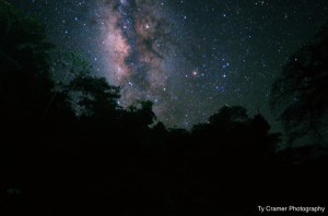 Milky Way in Chiquibul